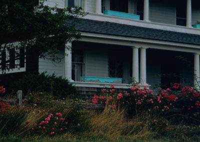 Porch and Roses